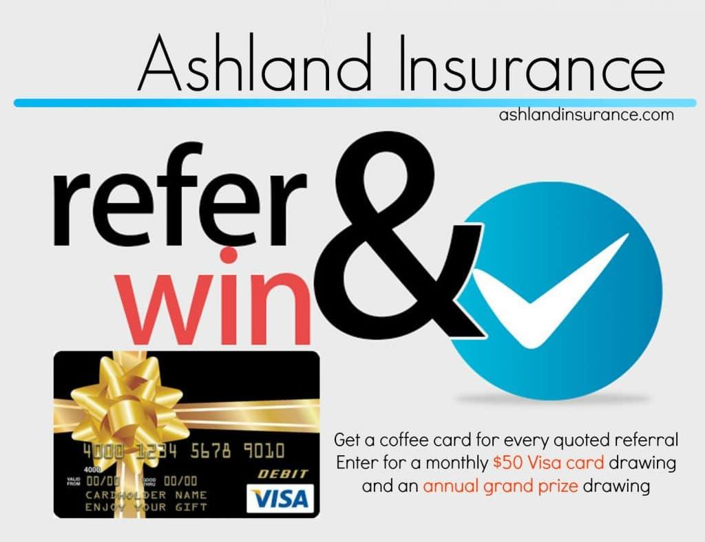 Ashland Insurance referral Program