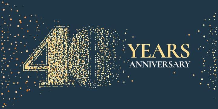 Ashland insurance 40 year anniversary