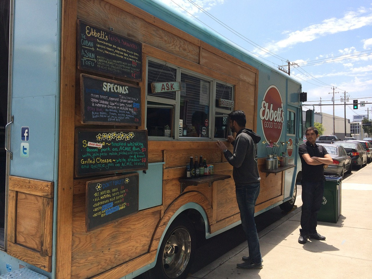 Food truck insurance coverage